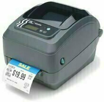 Zebra Technologies - GX420d Thermal Desktop Printer - GX42-202512-000 Zebra GX420d - Direct thermal, 203 dpi, Serial/USB/Parallel interfaces, Cutter, Includes 6' USB cable, US power cord.