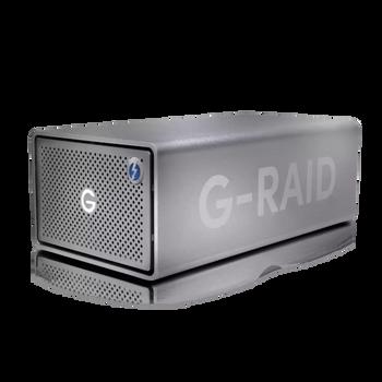 G-RAID 2 - 24TB, 2 Bay RAID Array From SanDisk Professional