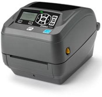 Zebra ZD500 Barcode Label Printer - ZD50042-T11200FZ, Zebra ZD500 - Thermal Transfer Desktop Printer; Zebra ZD500 Desktop Printer, 4-Inch Max Print Width, 203 DPI, USB/Serial/Centronics Parallel/Ethernet, Includes: US Power Cord, Dispenser Peeler
