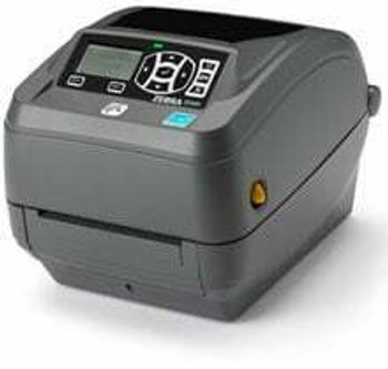 "Zebra ZD50043-T11200FZ Barcode Label Printer Zebra ZD500 - Thermal transfer Printer, 300 dpi, 4"" print width, LCD, Peeler, USB/RS-232/Parallel/Ethernet Interfaces"