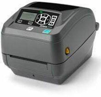"Zebra ZD50042-T11A00FZ Barcode Label Printer Zebra ZD500 - Thermal transfer Printer, 203 dpi, 4"" print width, USB/Serial/Parallel/Ehernet/Wi-Fi (802.11a/b/g/h) /Bluetooth Interfaces, Peeler."