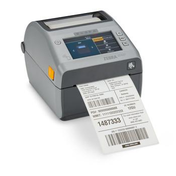 Zebra ZD6A042-D01F00EZ ZD621 Direct Thermal Printer; 203 dpi, USB, USB Host, Ethernet, Serial, BTLE5, US Cord, Swiss Font, EZPL