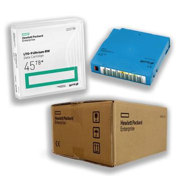 HPE LTO 9 Tapes Labeled Custom Data Cartridge 20 Pack Q2079AL