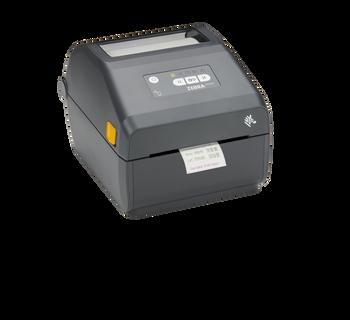 "Zebra ZD421 Direct Thermal 4"" Print Width Desktop Printer -203 di, USB, USB Host, Modular Connectivity Slot, 802.11ac, BT4, USA/Canada, US Cord, Swiss Font, EZPL - ZD4A042-D01W01EZ"