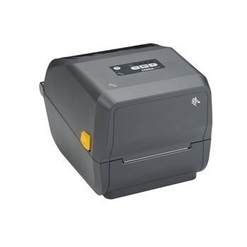 "ZD421 Thermal Transfer 4"" Print Width Advanced Desktop Printer(74/300M)300 dpi, USB, USB Host, Modular Connectivity Slot, BTLE5, US Cord, Swiss Font, EZPL - ZD4A043-301M00EZ"