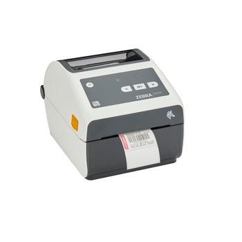 Zebra ZD421-HC Direct Thermal Advanced Healthcare Desktop Printer - 203 dpi, USB, USB Host, Ethernet, BTLE5, US Cord, Swiss Font, EZPL - ZD4AH42-D01E00EZ