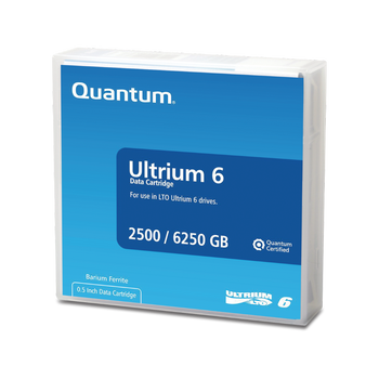 Quantum LTO 6 Tape with Barium Ferrite (BaFe) - MR-L6MQN-01
