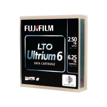 FujiFilm LTO 6 Tape with Barium Ferrite (BaFe) Packaging