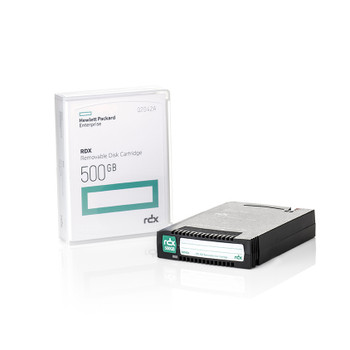 HPE 500GB RDX Cartridge - RD1000 Compatible