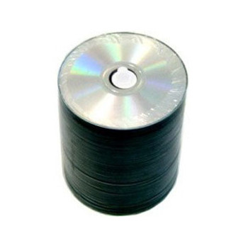 Spin-X CD-R 52x Silver InkJet Hub Printable Disc (100 Disc Pack)