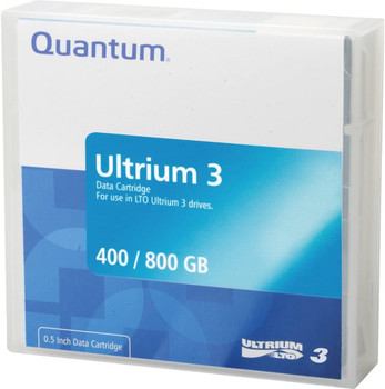 Quantum LTO 3 Tape, MR-L3MQN-01 Ultrium 3 400/800 GB Data Cartridge
