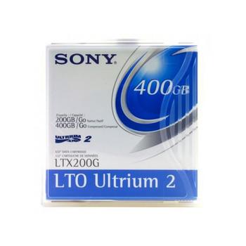 Sony LTO Ultrium 2 Tape, LTX200G Ultrium 2 - 200/400 GB  Cartridge -LTX200GWW