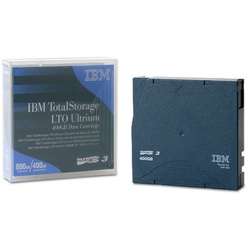 IBM LTO Ultrium 3 Tape, 24R1922 Ultrium 3 400/800 GB Data Cartridge