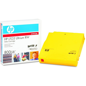 HP LTO 3 Tape, C7973A Ultrium 3 - 400/800 GB Data Cartridge
