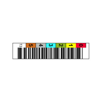 Barcode Label Example for T10K Tape
