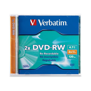 Verbatim 94501 DVD-RW 4.7GB (2x) DataLifePlus, in Jewel Case