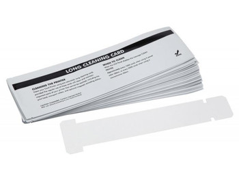 Zebra 105912G-707 Zebra Cleaning Card Kit Large T-Shaped Cleaning Cards for Zebra P330i, P330m and P430i Card Printers
