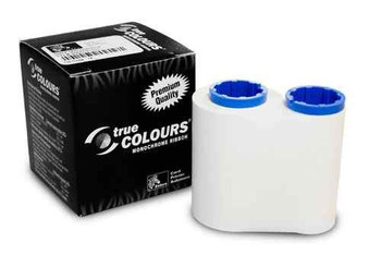 Zebra 800015-109 TrueColours C Series White Monochrome Ribbon for P300, P310F, P310C, P400, P420C, P500, P520C, P600 Card Printers
