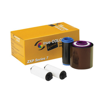 Zebra 800077-742 True Colours IX Series YMCKO Ribbon for ZXP Series 7 Card Printers - 750 Prints