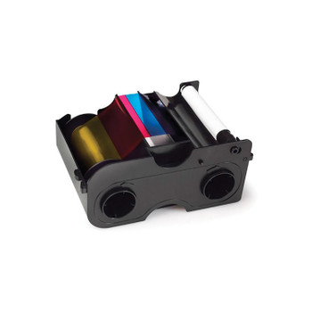 Fargo 45010 YMCKOK Full Color Ribbon for DTC1250e Printers - 200 Prints