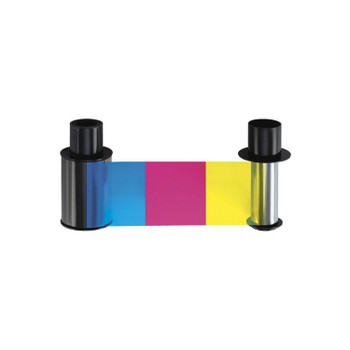 Fargo 86202 YMCKK Full Color Ribbon for DTC550 Card Printers - 500 Images
