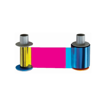 Fargo 86212 Color Ribbon YMCFKO with Fluorescing Panel for Fargo DTC550 and DTC550e Printers - 400 Images