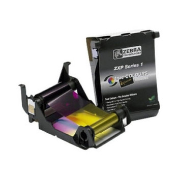 Zebra 800011-140 YMCKO Load-N-Go Color Ribbon for ZXP Series 1 printers - 100 Prints