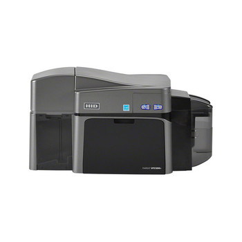 Fargo DTC1250e Dual-Sided ID Card Printer with Magnetic Stripe Encoder, Ethernet, and Internal Print Server 50130