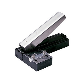 "Brady ID People 3943-1020 Stapler-Style Slot Punch with Adjustable Guide 0.125"" x 0.550"" Slot Size"