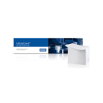 Fargo 81759 UltraCard HID1324 10 mil, adhesive paper-backed cards-Box of 500 Cards