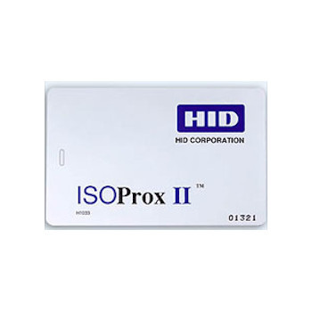 HID 1386LGGMV Access Control Card - 1386 IsoProx II Card - PROGRAMMED - ISO-Thin, Printable HID Proximity Access Card