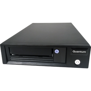 "Quantum LTO-8 Tape Drive, Half Height, add on for 1U Rack, 6Gb/s SAS, 5.25"", Black, Bare"