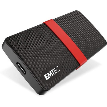 Emtec Portable SSD 3.1 Gen1 X200 Hard Drive -  256GB