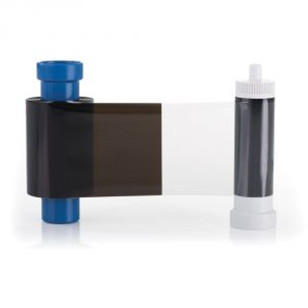 Magicard Black Monochrome Ribbon with Overlay - 600 prints - MB600KO