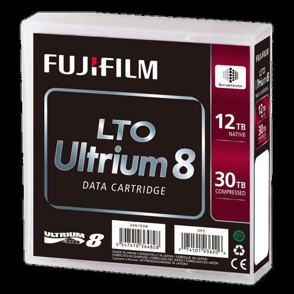Fuji LTO 8 Tape Packaging with Barium Ferrite (BaFe) 16551221