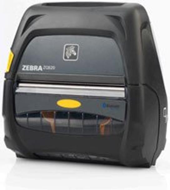 ZEBRA Label Printer - Thermal Paper - Roll (4.45 in) - 203 dpi - up to 300 inch/min - USB 2.0, NFC, Bluetooth 4.0 - Tear bar