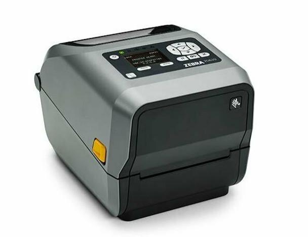 Zebra ZD620d Direct Thermal Desktop Printer with LCD Screen 203 dpi Print Width 4 in WiFi Bluetooth USB Serial Ethernet ZD62143-D01F00EZ