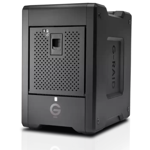 G-RAID Shuttle SSD 8TB 4 Bay by SanDisk Professional