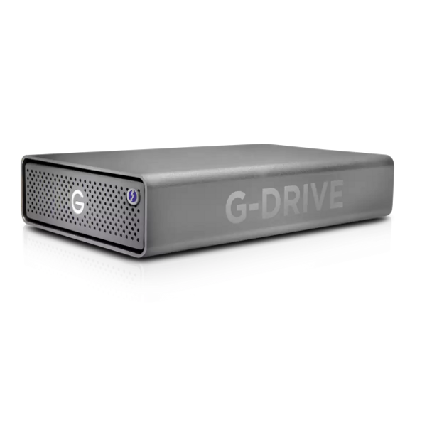 12TB G-DRIVE Pro Thunderbolt 3 External HDD by SanDisk Professional