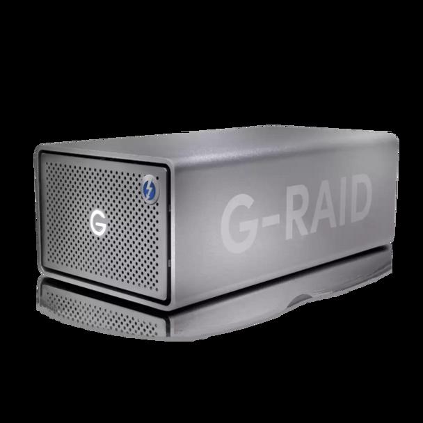 G-RAID 2 - 8TB, 2 Bay RAID Array From SanDisk Professional
