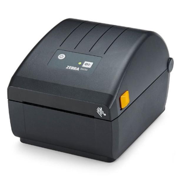 Zebra ZD22042-D11G00EZ Barcode Label Printer, Zebra ZD220d Desktop Printer - Direct thermal Printer ZD220, Standard EZPL, 203 dpi, US Power cord, USB dpi, US Power cord, USB, Dispenser (Peeler)