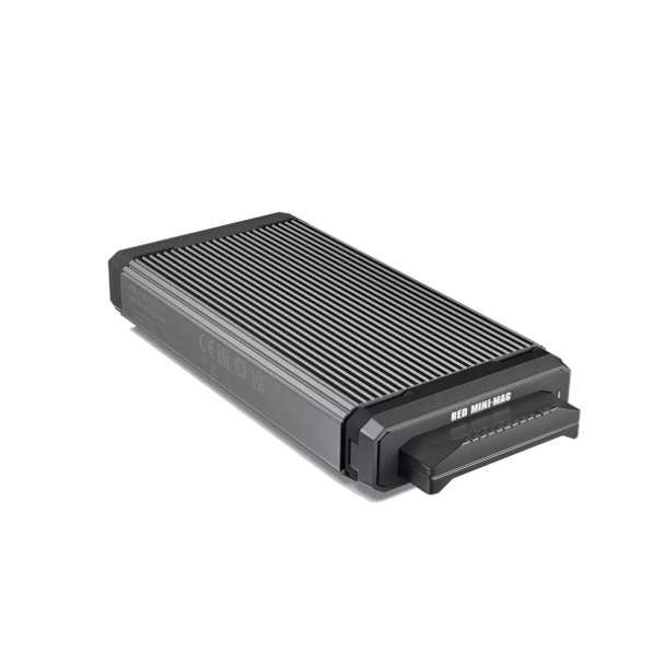 Red Mini Mag PRO-READER from SanDisk Professional