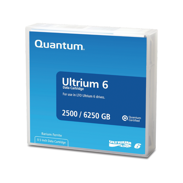 Quantum LTO 6 Tape with Barium Ferrite (BaFe) - MR-L6MQN-01