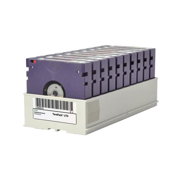 HPE LTO-6 Tapes BaFe Certified TeraPack Media (Q1G95A)