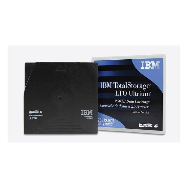 IBM LTO 6 Tape with Barium Ferrite (BaFe) (00V7590)