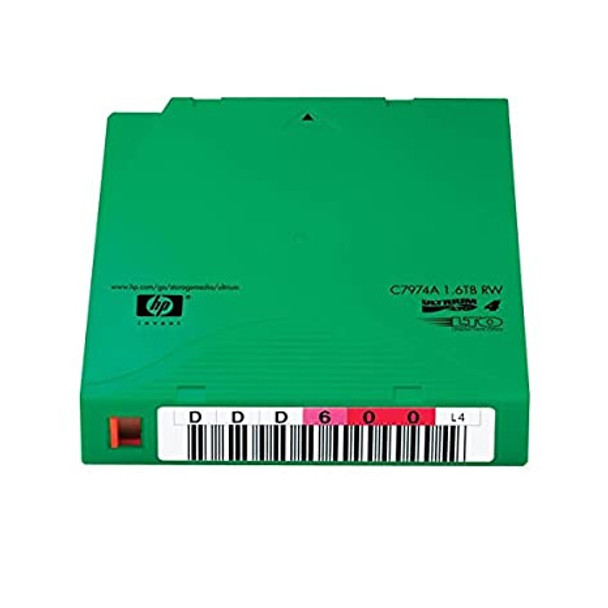 HP LTO-4 Tapes Pre-Labeled Non-Custom Data Cartridge 20 Pack (C7974AN)