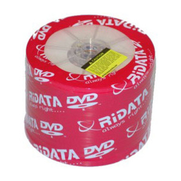 Ritek RiDATA DVD-R Disc 1x/16X White Inkjet Hub Printable Media 4.7GB