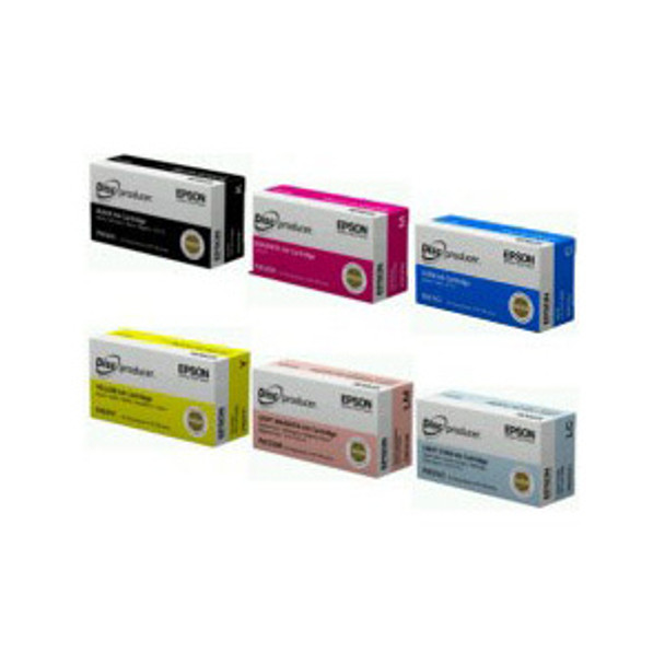 Epson Ink set for Discproducer - 6 Cartridges C13S020A9991