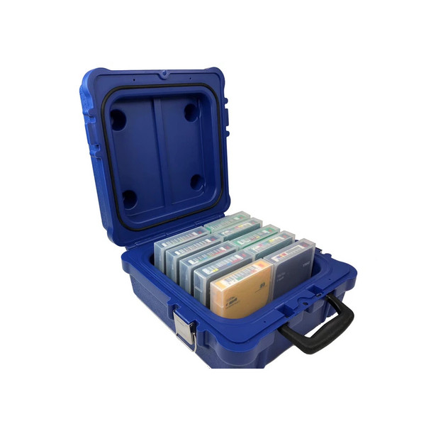 Turtle LTO Tape Storage Case Holds 10 LTO Tapes