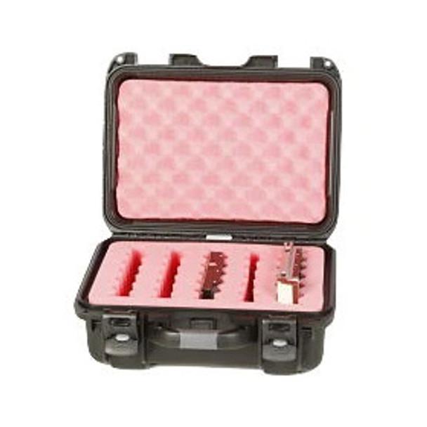 "Turtle Case 3.5"" Hard Drive Waterproof Case - 5 Capacity - Long Slots"